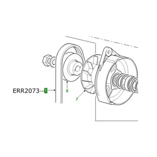Curea transmisie ERR2073 Land Rover Discovery Range Rover Defender