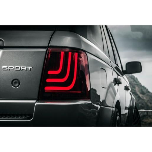 Lampi stopuri cu LED marca Glohh pentru Range Rover Sport GL-3