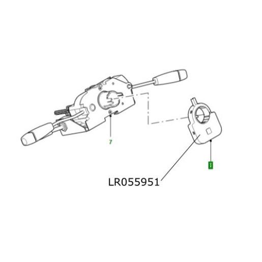 Senzor unghi volan Land Rover Defender de la 2007 LR055951