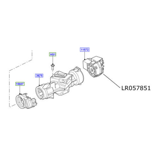 Contact electronic pornire Discovery 3 Range Rover Sport LR057851