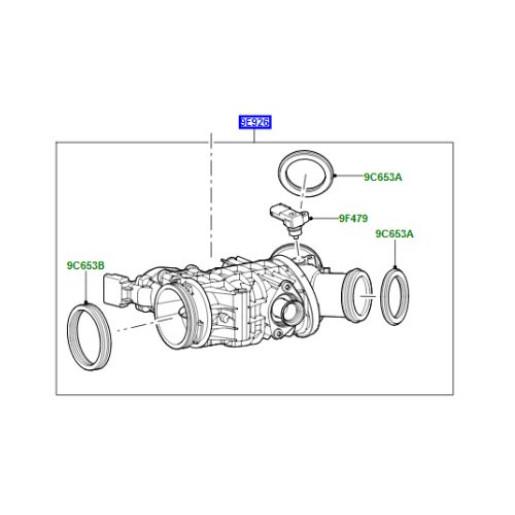 Clapeta acceleratie LR Discovery 4 2700cc diesel LR078820