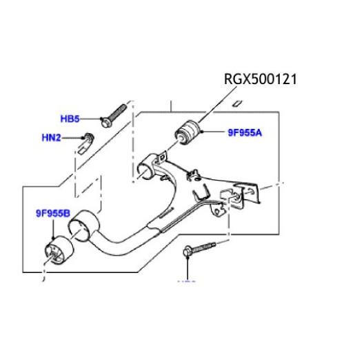 Bucsa superioara bascula spate Discovery RGX500121
