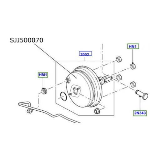 Tulumba servofrana Range Rover Sport SJJ500070