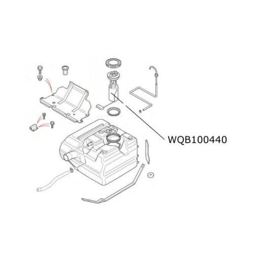 Pompa combustibil motorina Defender TD5 si TD4  WQB100440