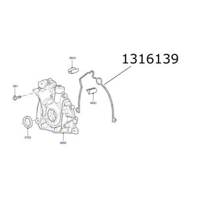 Garnitura pompa ulei Discovery Range Rover 1316139