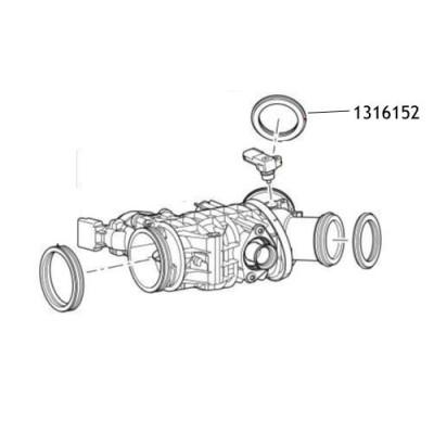 Garnitura clapeta acceleratie Discovery 3 1316152
