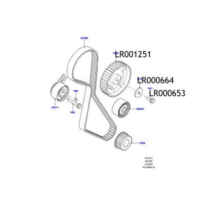 Saiba pinion ax came Freelander 2 LR000664