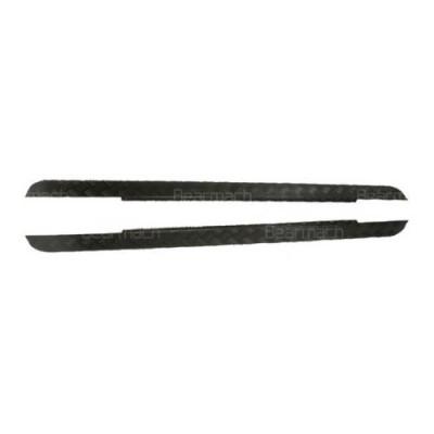Aparatori praguri aluminiu negru LR Defender scurt tip 90 BA126C