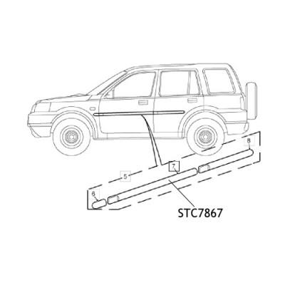 Bandou usa STC7867 Land Rover Freelander