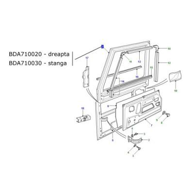 Usa fata stanga LR Defender 2002-2005 BDA710030
