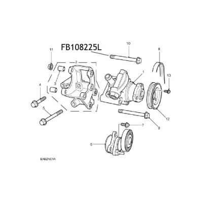 Bolt pompa servo directie FB108225L Land Rover Freelander