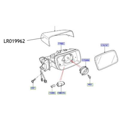 Capac oglinda Land Rover Freelander Discovery Range Rover LR019962
