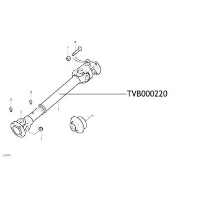 Cardan Land Rover Discovery TVB000220
