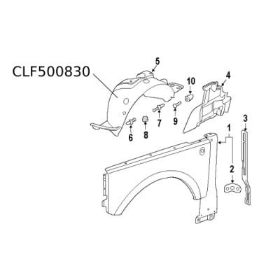 Carenaj roata Range Rover CLF500830
