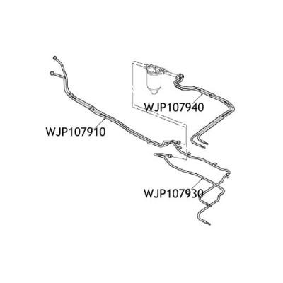 Conducta motorina Defender 110 130 TD5 WJP107930
