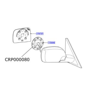 Motor oglinda Range Rover L322 CRP000080