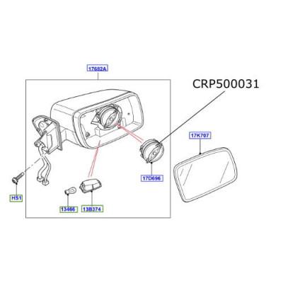 Motor oglinda LR Discovery 3 si 4 Discovery Sport Range Rover Sport si Evoque Freelander 2 CRP500031