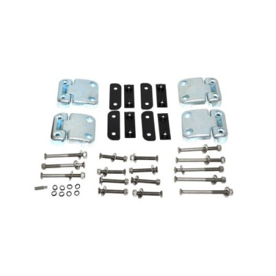 Balamale inox usi laterale spate set complet Britpart LR Defender DA1275SS