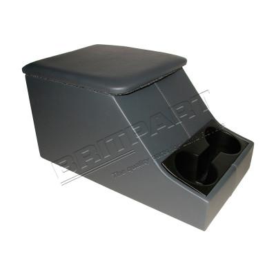 Cubby box si cotiera culoare gri inchis Britpart Defender si Seria 3 DA2035LCS
