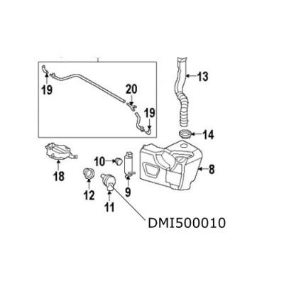 Senzor vas lichid parbriz Discovery 3  Freelander 2  Range Rover Sport DMI500010