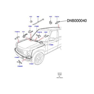 Valva furtun spalator parbriz Range Rover L322 DNB000040