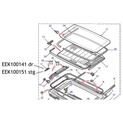 Suport culisa trapa EEK100151 Land Rover Freelander