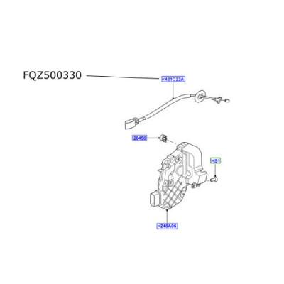 Cablu broasca usa laterala spate Range Rover Sport FQZ500330