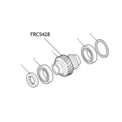 Pinion principal cutie transfer Discovery Defender Range Rover FRC5428