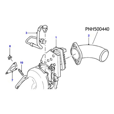 Furtun turbo Land Rover Defender PNH500440