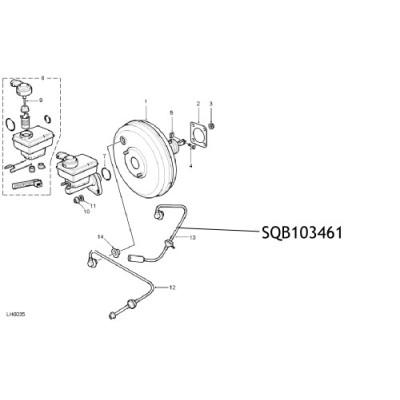 Furtun vacuum servofrana Land Rover Freelander SQB103461