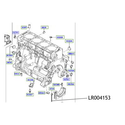 Garnitura cuzinet Land Rover LR004153
