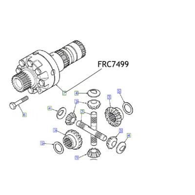 Inel diferential FRC7499 Land Rover Defender