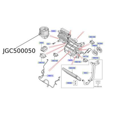 Motor aeroterma Discovery 3 si 4 Range Rover Sport JGC500050
