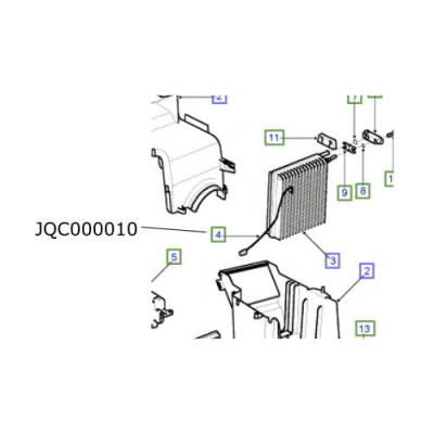 Senzor aer conditionat Freelander 1 de la 2001 JQC000010
