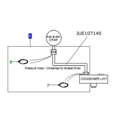 Conducta aer conditionat Defender TD5 JUE107140