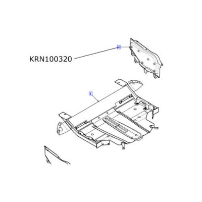 Scut motor dreapta Land Rover Freelander 1 KRN100320