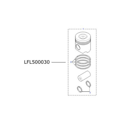 Piston motor diesel TD5 LR Defender Discovery LFL500030