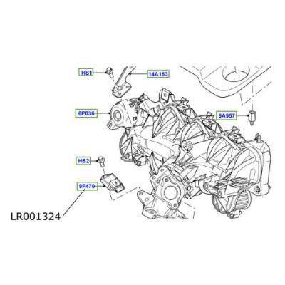 Senzor presiune admisie LR Discovery Sport Range Rover Evoque LR001324