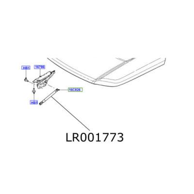 Amortizor capota Freelander 2 LR001773