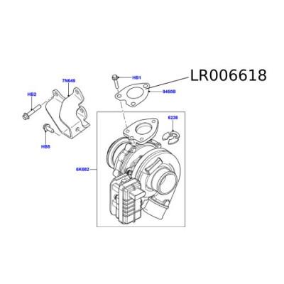 Garnitura turbina  LR006618 Freelander 2
