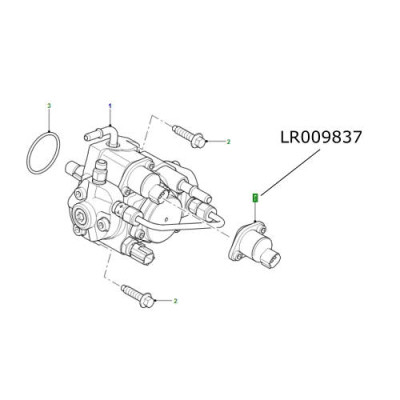 Valva vapori motorina pompa injectie LR Defender 2400cc LR009837