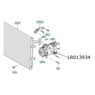 Compresor clima ac LR Freelander 2 LR013934