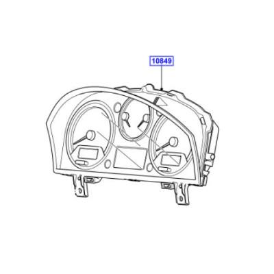 Ceasuri bord ansamblu LR Discovery 3 diesel LR014551