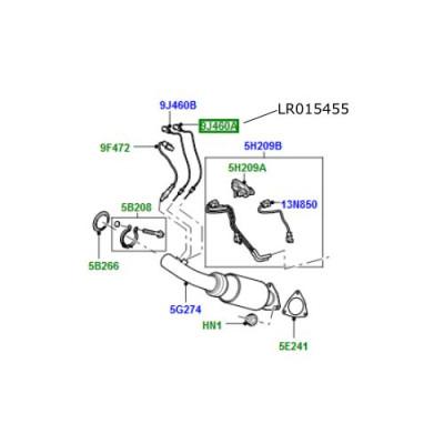Senzor temperatura esapament  Freelander 2 Discovery 4 si Sport Range Rover Evoque si Sport LR015455