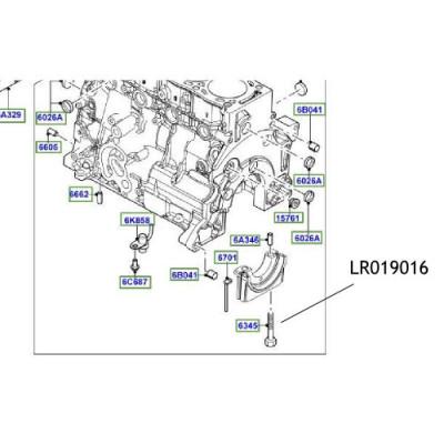 Surub suport cuzinet Freelander Range Rover LR019016