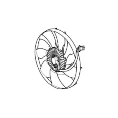 Elice cuplaj vascos ansamblu ventilator Range Rover L322 4400cc V8 diesel LR022732