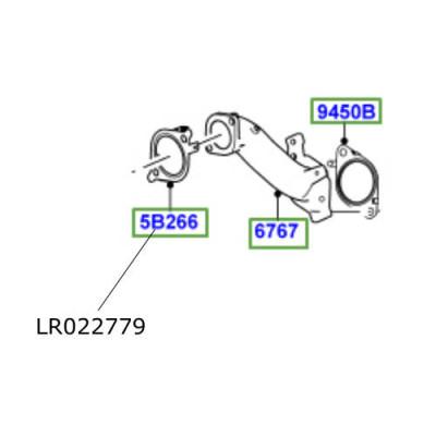 Garnitura conector filtru particule Range Rover L322L405 si Sport LR022779