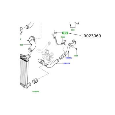 Senzor presiune compresor Aer Conditionat Range Rover 4400 V8 diesel LR023069
