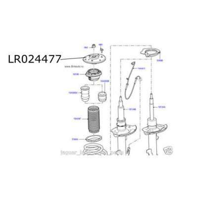 Flansa amortizor suspensie Range Rover Evoque LR024477