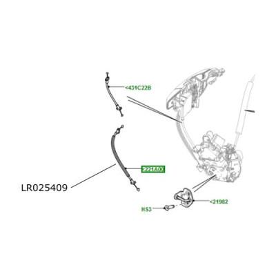 Cablu usa fata Range Rover Evoque LR025409